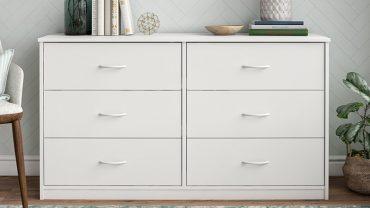 Cheap White 6-Drawer Dressers