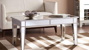 Cheap Mirrored Coffee Tables