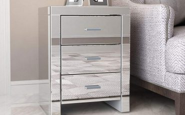 Cheap Mirrored Nightstands