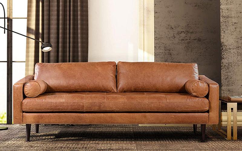 Best Cognac Leather Sofas