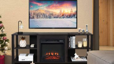 Electric Fireplace TV Stands Under $300