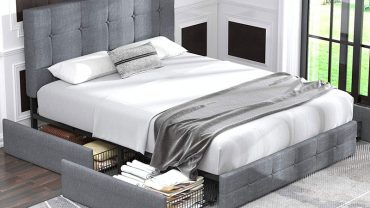 Best Bed Frames With Storage And Headboard