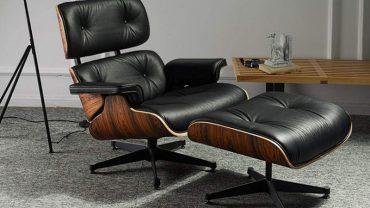 Mid Century Modern Lounge Chairs With Ottoman