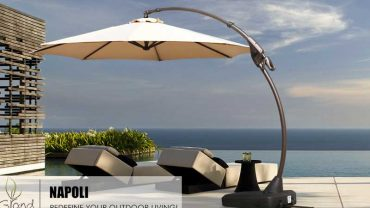 Cantilever Umbrellas with Weighted Bases