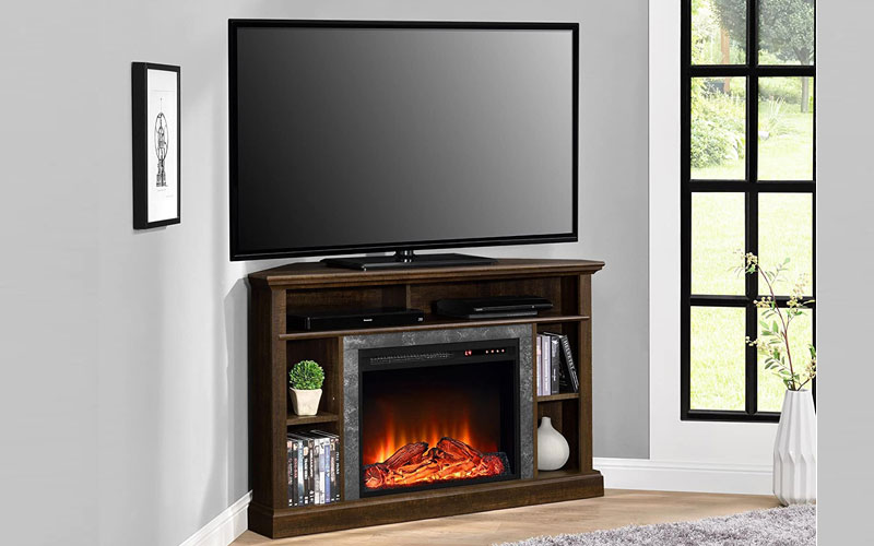 Best Corner Electric Fireplace TV Stands