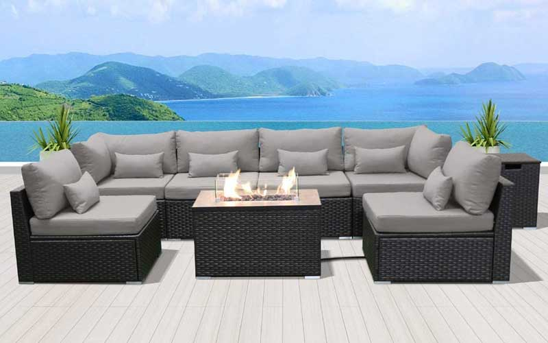 Best Patio Furniture Sets with Fire Pit Tables