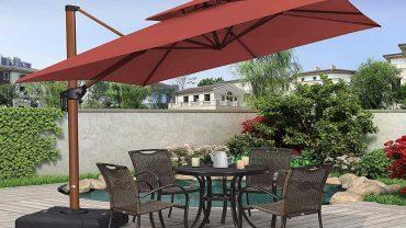 Purple Leaf Cantilever Umbrella Reviews