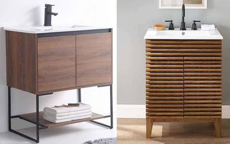 Best Mid-Century Modern Bathroom Vanities