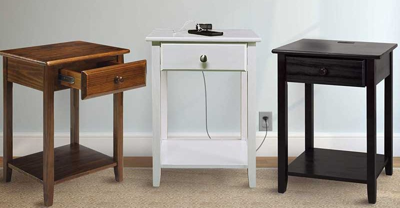 Best Nightstands With USB Charging Ports