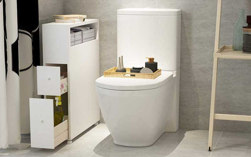 Best Slim Bathroom Storage Cabinets