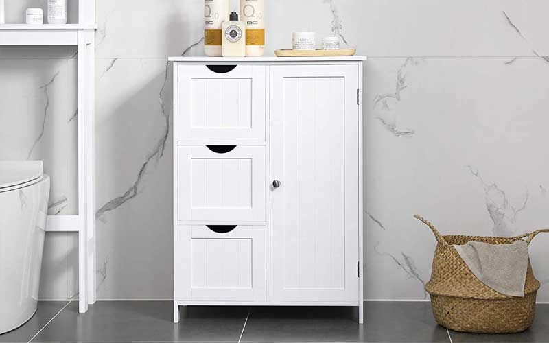 Best Small Bathroom Storage Cabinets With Drawers