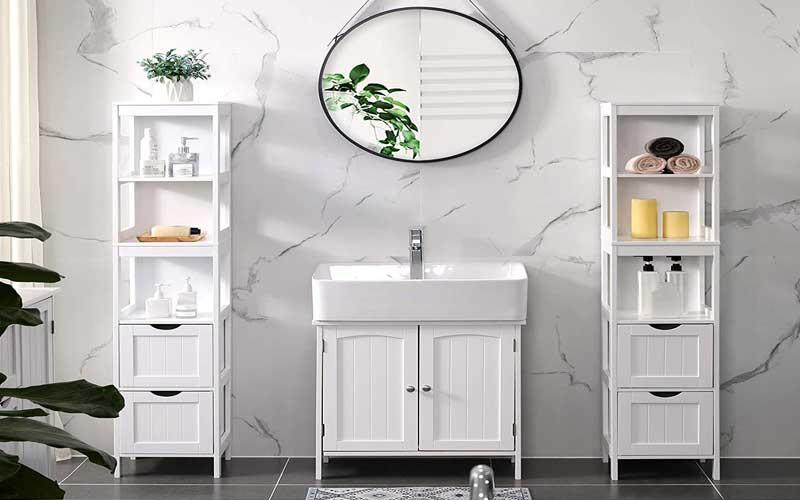 Best Tall Freestanding Bathroom Storage Cabinets