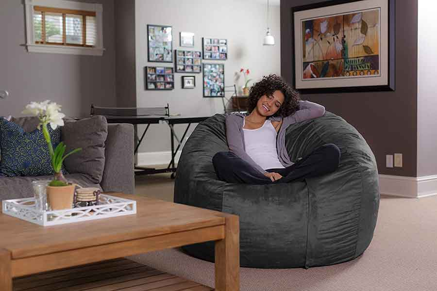35 Essential Types of Furniture In The Living Room 18 Bean Bag Chair