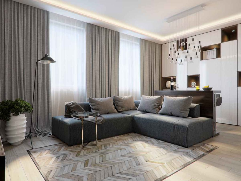 35 Essential Types of Furniture In The Living Room 34 Curtains for living room