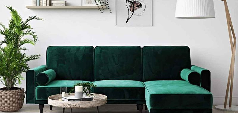 How To Decorate Around A Dark Green Sofa 4 Decorating Around A Dark Green Sofa