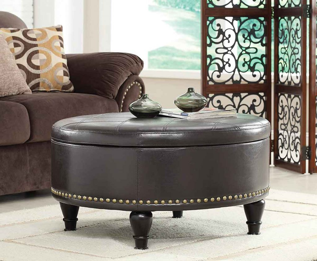 35 Essential Types of Furniture In The Living Room 20 Ottoman for living room
