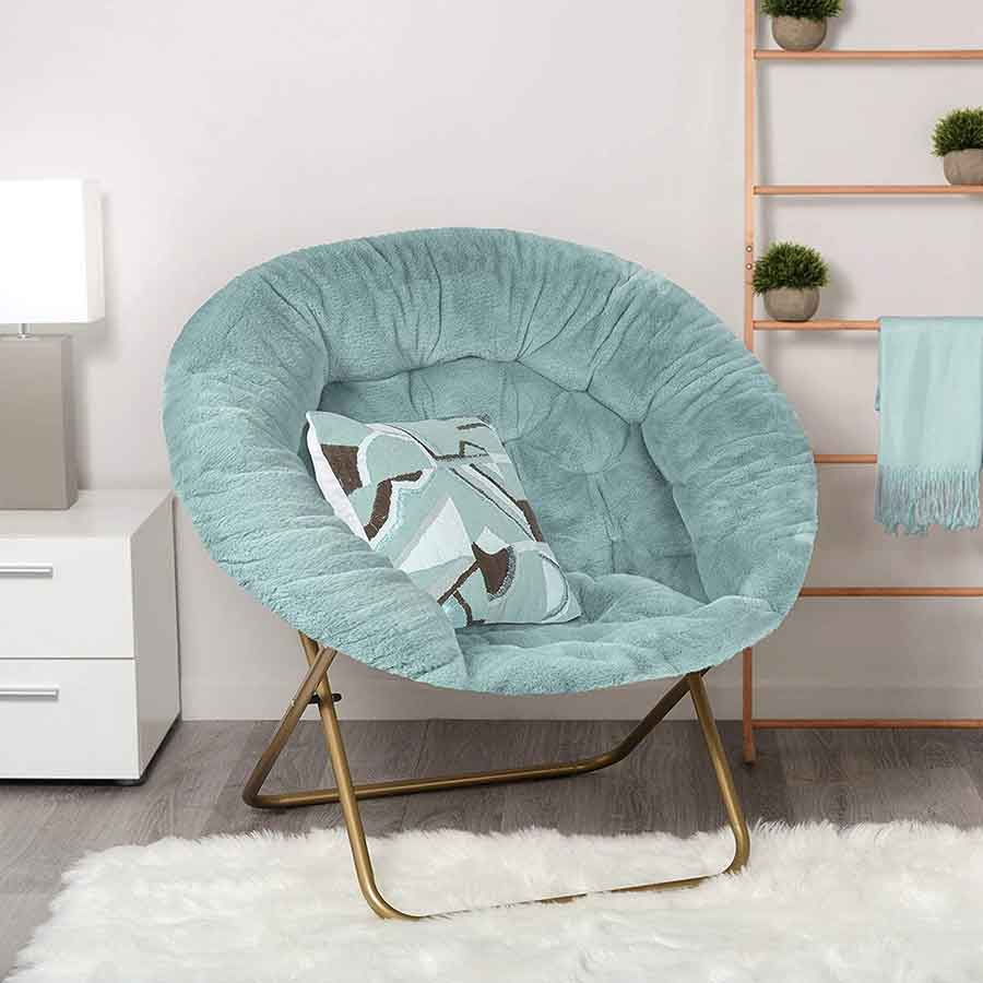 35 Essential Types of Furniture In The Living Room 19 Saucer Chair