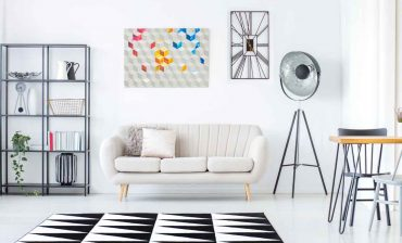 How to Decorate Around a Beige Sofa 3 What color area rug goes with a beige sofa