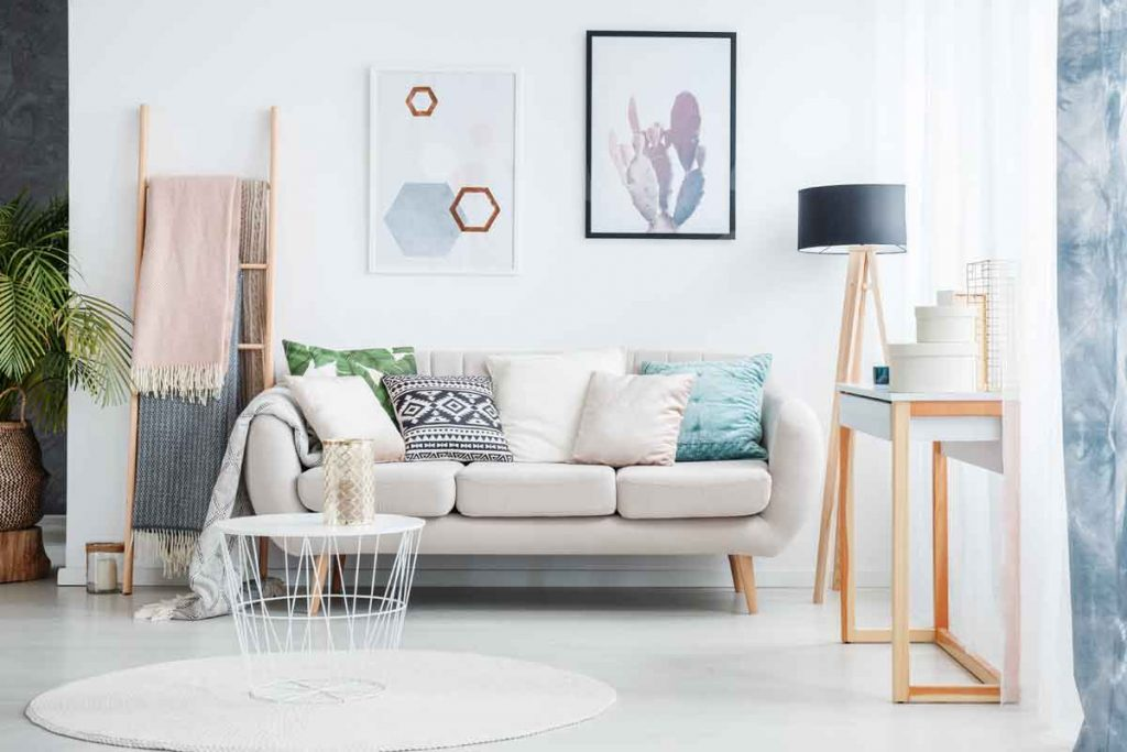 How to Decorate Around a Beige Sofa 2 What color scheme goes best with a beige sofa