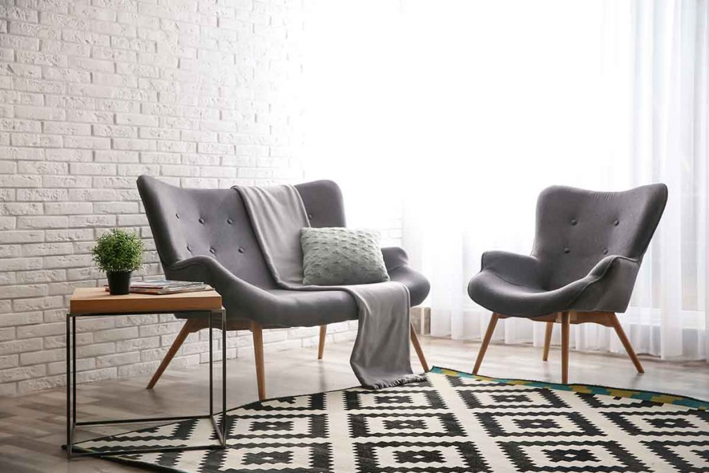35 Essential Types of Furniture In The Living Room 11 Wingback Chair