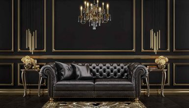 How To Decorate Around A Black Leather Sofa 10 color scheme goes best with a black leather sofa