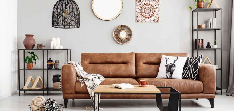 How To Decorate Around A Brown Leather Sofa 6 decorating living rooms with brown leather couches