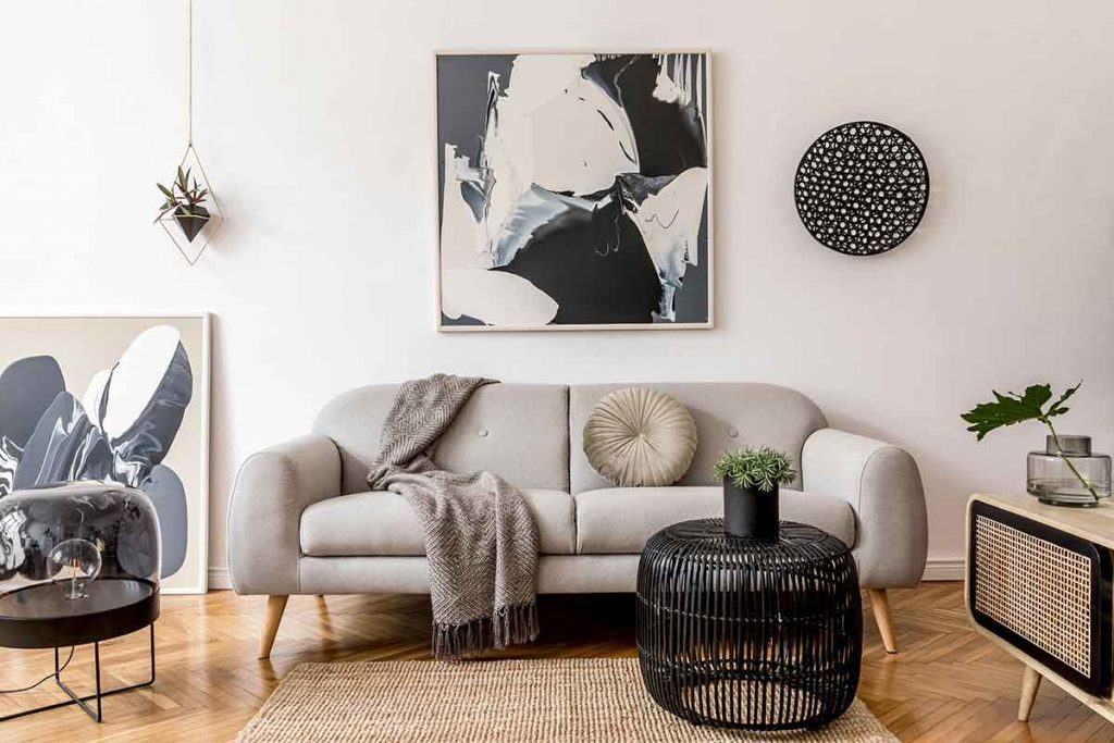 35 Essential Types of Furniture In The Living Room 31 wall art for living room