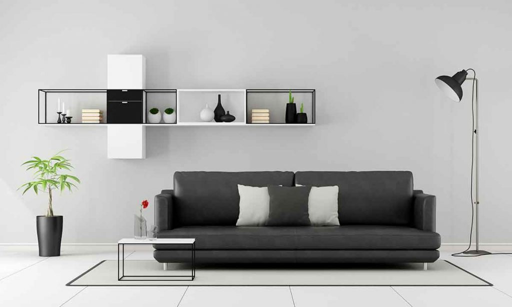 How To Decorate Around A Black Leather Sofa 3 wall color goes with a black leather sofa