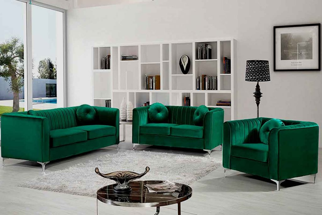 How To Decorate Around A Dark Green Sofa 3 wall color goes with a dark green sofa